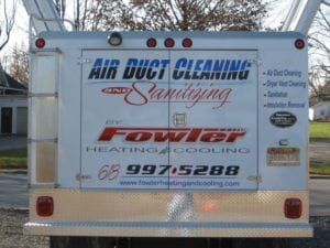 Air Duct Cleaning Truck