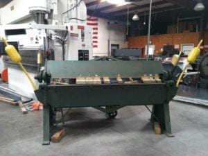 Sheetmetal Fabrication Brake