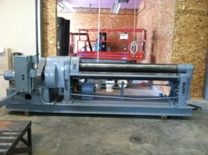 Sheetmetal Fabrication Rolling Machine